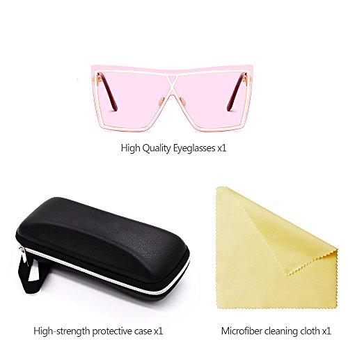 Hombre para Mujer sol de XFentech Unisex Estilo UV400 06 de Gafas y wnqagA7BFx