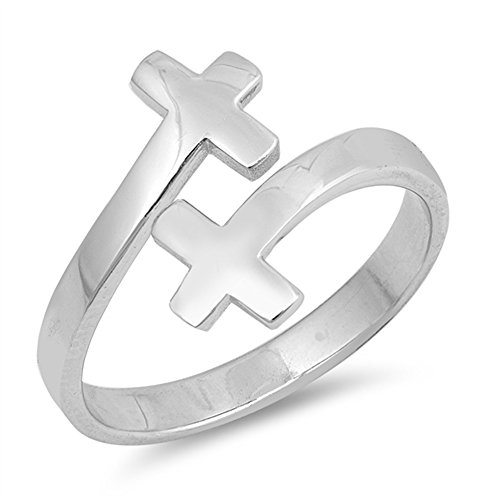 double cross ring - 5