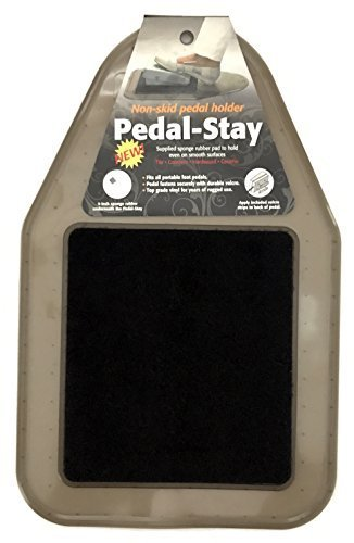 (Pedal-Stay II Non-Skid Foot Pedal Support Pad)