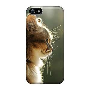 Excellent Design Nice Cat Phone Case For Iphone 5/5s Premium Tpu Case