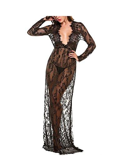Buy black lace dress canada - 7