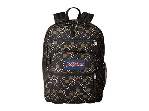 JanSport Big Student Green Machine Digi Cube One Size