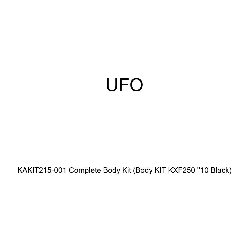 UFO KAKIT215-001 Complete Body Kit BODY KIT KXF250 10 BLACK