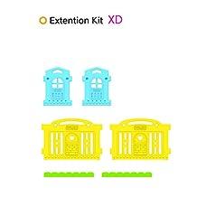 Dwinguler Castle Playpen Extension Kit - Rainbow