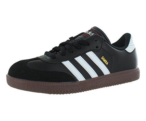 Soccer Shoe, Black/White, 5.5 M US Big Kid ()