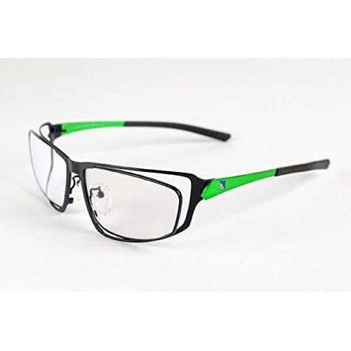 G-SQUAREアイウェア Professional Model フルリム Green Gray  グリーン×グレー B07F6V4JXL
