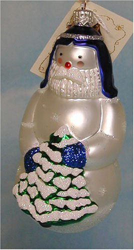 Patricia Breen Snow Joseph Snowman Ornament Retired MWT
