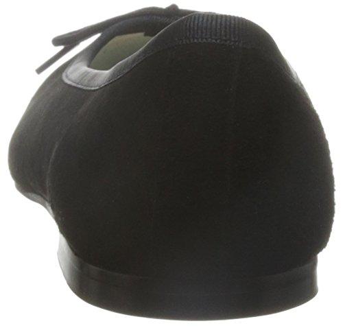 French Sole HE358 - Bailarinas de cuero mujer negro - negro