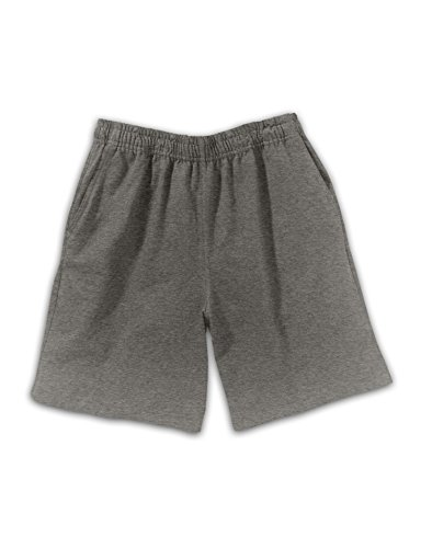 - Hanes Boy`s Jersey Short, D202, L, Charcoal