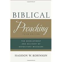 Biblical Preaching, 3rd ed.