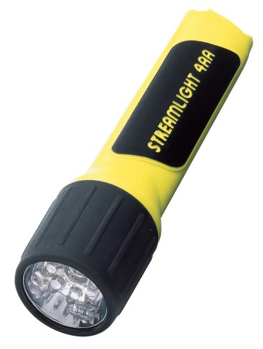 Streamlight 68200 4AA ProPolymer LED Flashlight with White LEDs, Yellow - 67 -