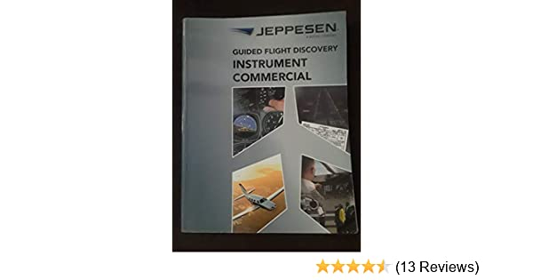 Jeppesen Instrument//Commercial Manual GFD FREE SHIPPING 10001784-005
