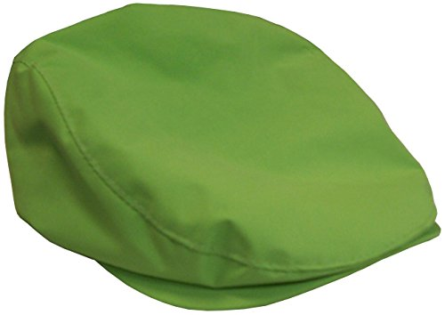 Canvas Newsboy Cap - N'Ice Caps Kids Classic Newsboy Cap (3-7yrs, neon green)