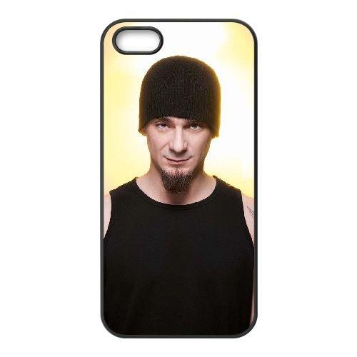 D4C68 J Ax M5R2QE coque iPhone 5 5s cellule de cas de téléphone couvercle coque noire FT3ZBN3OD