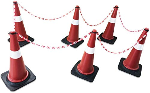 Roshan Safety Cone Traffic Safety Product (6 Cones , 6 Cone Rings and 6 m Chain) Price & Reviews