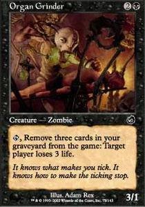 Magic: the Gathering - Organ Grinder - Torment