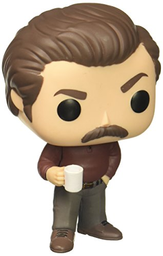 Funko Pop Television  Parks And Recreation   Ron Swanson Figure