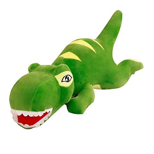verde Giocattoli Prima Infanzia Dinosauro Piccolo Peluche Tyrannosaurus Rex Cuscino Addormentato Ragbambola Bambola Fresca Simpatica Bambola telecamera dei Bambini Ragazza Ragazza Regalo di Compleanno 110CM