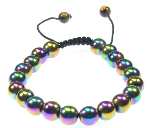 Rainbow Magnetic Hematite Bracelet Arthritis