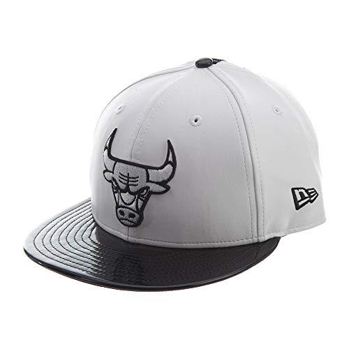 (New Era Chicago Bulls Retro Hook Black/White Adjustable Snapback Hat (White))