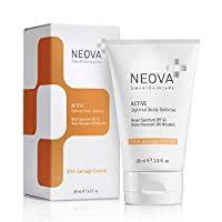 NEOVA SmartSkincare Active Broad Spectrum Sunscreen SPF 43 Defends against UVA/UVB Rays - Water Resistant Up to 80 minutes