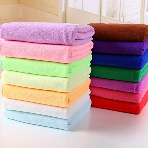 sahnah Microfiber Absorbent Drying Bath Beach Towel Washcloth Swimwear Hair Towel