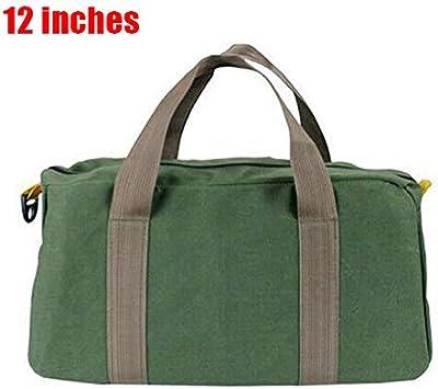 Fanville Toolbag Open Tote Bag Zipper Bag Small Hand Tool Pouch Tote Storage Organizer Portable Grande Capacit/é