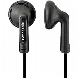 Panasonic RP-HV108-K auricular - Auriculares (Negro, Intraaural, 20 - 20000 Hz, Dentro de oído, Neodimio, Alámbrico)