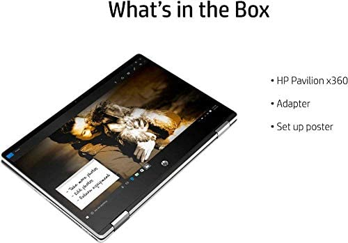 2020 HP Pavilion x360 2-in-1 Laptop Computer/ 14″ Full HD Touchscreen/ 10th Gen Intel Core i5-10210U Up to 4.1GHz/ 8GB DDR4 Memory/ 256GB PCIe SSD + 16GB Optane/ AC WiFi/ HDMI/ Gold/ Windows 10 41eoSP2IrxL