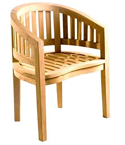 D-Art Collection Teak Island Arm Chair