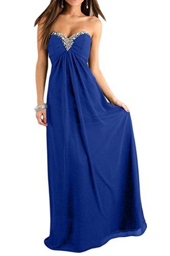 Missdressy - Vestido - trapecio - para mujer azul royal