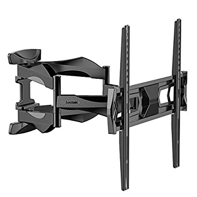 "Articulating Arm 32-50 inch TV LCD Monitor Wall Mount, Full Motion Tilt Swivel for 32"" 36"" 37"" 40"" 42"" 46"" 50"" LED TV Flat Panel Screen with VESA 400x400mm"