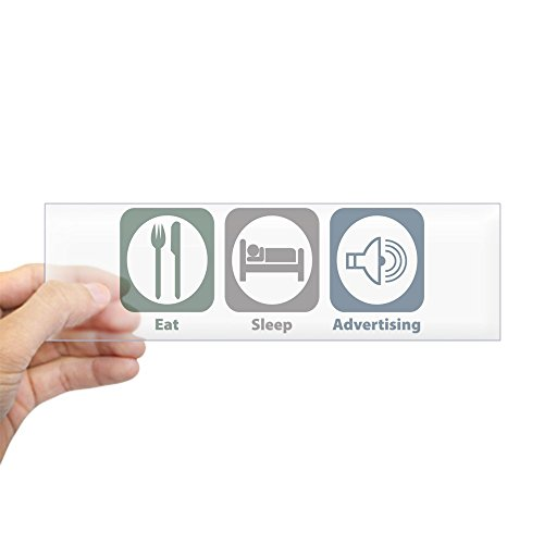 Rectangle Advertising Magnets (CafePress - Eat Sleep Advertising Bumper Sticker - 10