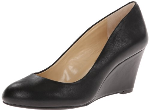 Black Wedge Heel - Jessica Simpson Women's Sampson Wedge Pump,Black,8.5 M US