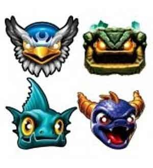 Skylanders Paper Mask [2 Retail Unit(s) Pack] - 4988489