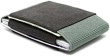 Aura Alcantara Leather Slim Transforming Front Pocket Wallets and Card Holders