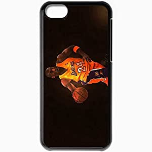 Personalized iPhone 5C Cell phone Case/Cover Skin 15023 kobe bryant by angelmaker666 d3clx4x Black