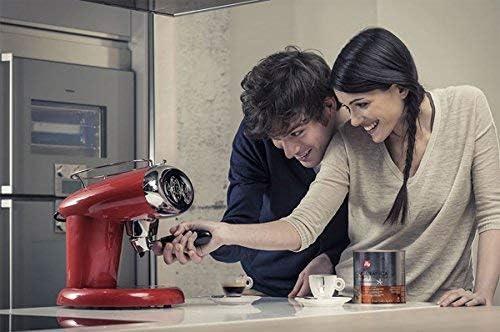 illy Kaffee Kaffemaschine f/ür Iperespresso Kapseln X7.1 Wei/ß