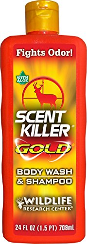 Price comparison product image Scent Killer Gold 1241 Wildlife Research Scent Killer Gold Body Wash and Shampoo
