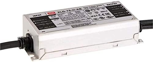 MeanWell XLG-75-24-A 74,4W 24V 3,1A Alimentación de los LED IP67