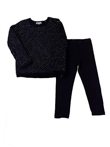 dkny-kids-wear-black-feathery-knitted-top-black-leggings-4t