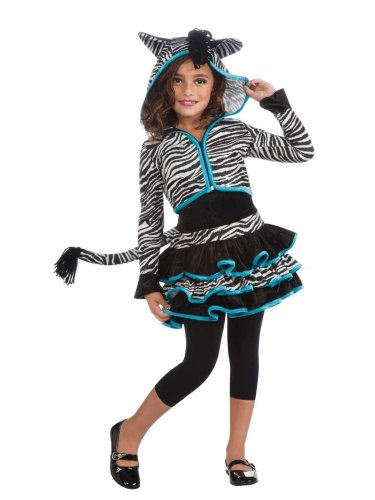 Rubies Girls Pretty Zebra Costume