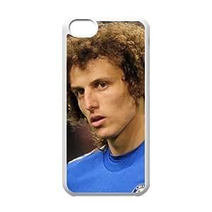 iphone5c White David Luiz phone cases&Holiday Gift