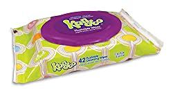 Kandoo Flushable Cleansing Kids Wipes for Travel, Sensitive, 42 Count (Pack of 12)