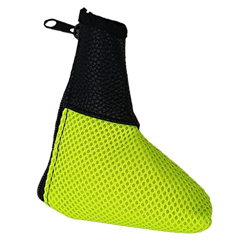 DYNWAVE Premium Mesh Golf Blade Putter Headcover Golf Club Head Cover Protection Replacement Golf Enthusiast Gifts - Yellow (Blade Premium Putter Cover)