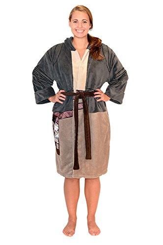 Sexy R2d2 Costumes (Star Wars Force Rey Resistance Women's Costume Fleece Robe OSFM)