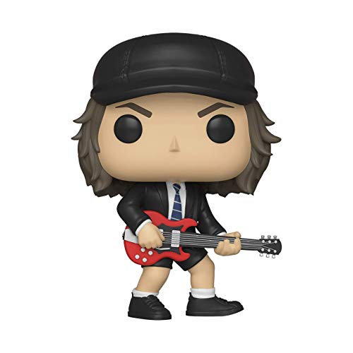 Funko- Pop Vinyl Rocks AC/DC Angus Young w/Chase (Styles May Vary) Figura coleccionable, Multicolor, talla unica (36318) , color/modelo surtido