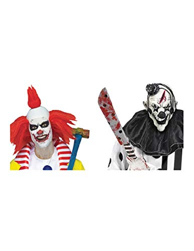 Fun World Costumes Scary Clown Window Decals -