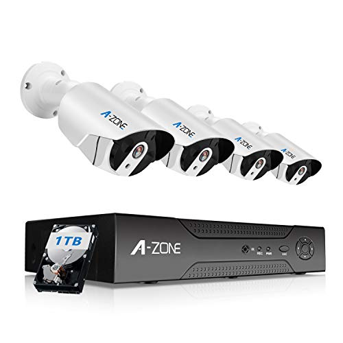 , QSee 8 Channel 1080p HD Security System with 1TB Hard Drive, 8 1080p Bullet Cam