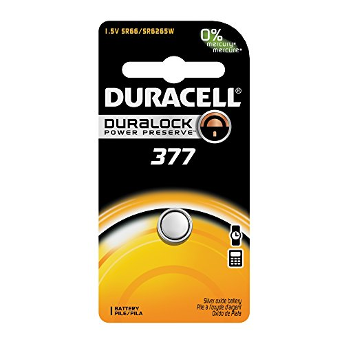 (Duracell Watch Battery 377, 6 pack)